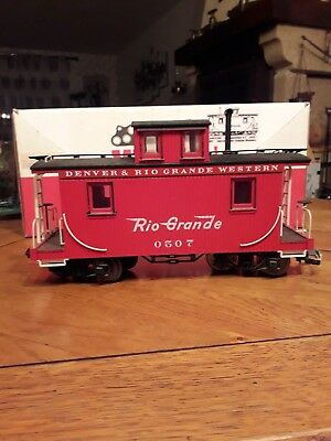 Wagon Caboose / Ech. G / Mdc G  Scale /  Ref.4801 / Bogies Roues Metal / Be. • 45€