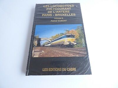 Les Editions Du Cabri Les Locomotives Polycourant Volume 2 Livre Sous Blister • 36.50€