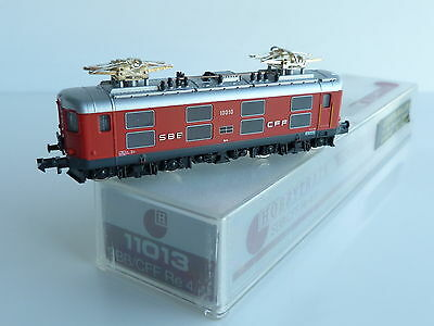 HOBBYTRAIN LOCOMOTIVE ELECTRIQUE Re 4/4 10010 DE LA SBB CFF REF 11013 • 115€