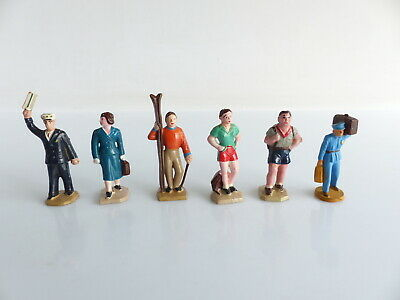5 Personnages Hornby Meccano Dinky Toys Et 1 Sarlux Echelle O  • 30€