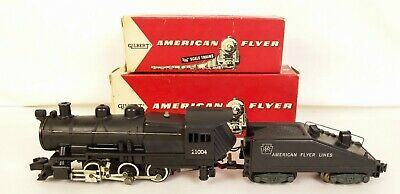 Gilbert-American Flyer #21004 Switcher Locomotive 厜 Tender-Ex+ En OB'S • 398.65€