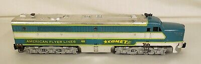 American Flyer #466 De Luxe Chrome Édition Comet Diesel Locomotive-Vg + Orig • 139.03€