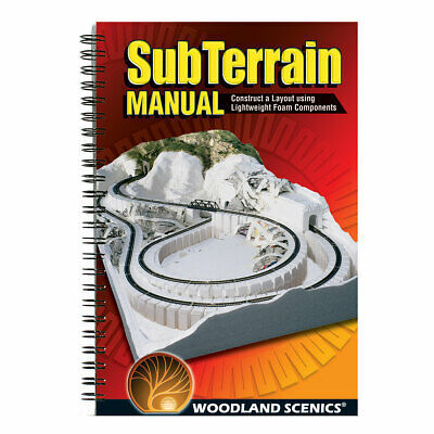 Subterrain How-To-Book For Any Scale Model Kit Woodland Scenics ST1402 • 13.41€
