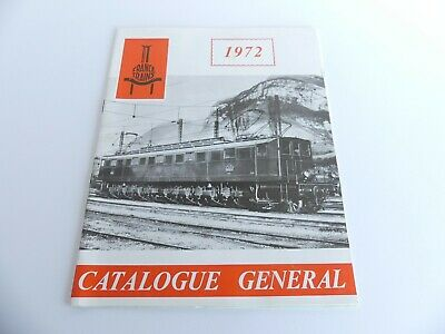 France Trains Catalogue General Annee 1972 • 20€
