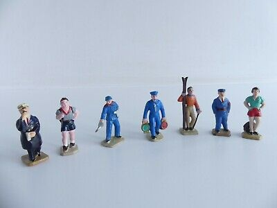 7 Personnages Hornby Meccano Dinky Toys / Starlux Echelle O  • 30€