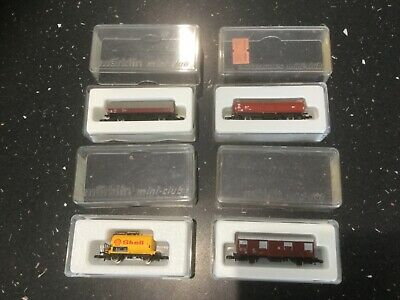 Marklin Z Gauge 4 Off Mixed Rolling Stock (1) • 22.22€