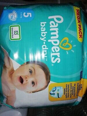 Couches Pampers Taille 5 • 20.50€