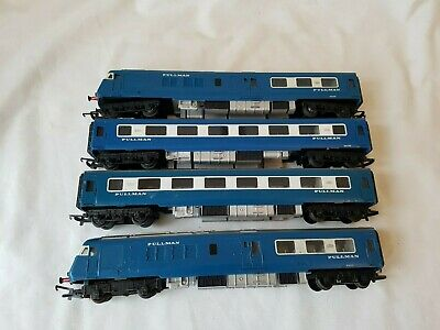 Triang Midland Pullman 4 Car Set Blue/white Good Unboxed Working Motor  • 41.95€