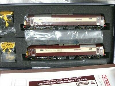 Vitrains  Class 47 Collection - Northern Belle Twin Pack Limited Edition • 255.72€