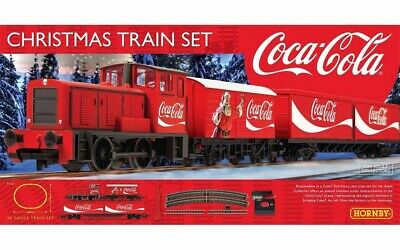 Hornby R1233 - The Coca-Cola Noël Lot Train • 79.03€