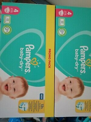 Couches Pampers Taille 4 • 44.99€