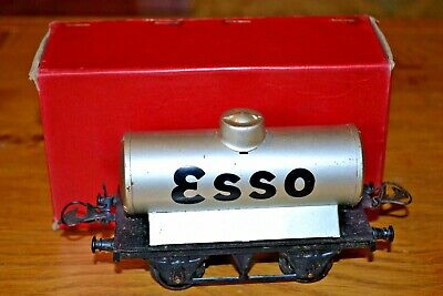 Vintage Boxed HORNBY SERIES Meccano O GAUGE No.1 Petrol Tank Wagon  Esso  • 115.61€
