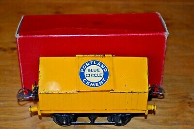 Vintage Boxed HORNBY Trains Meccano O GAUGE R154 Cement Wagon • 163.05€