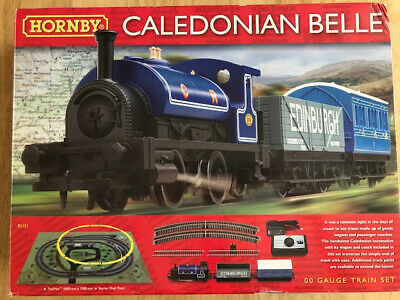 Hornby Caledonian Belle Train Set. Hardly Used. Excellent Condition. • 55.61€