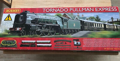 Hornby Tornado Pullman Express Electric Train Set (R1169) DCC Ready • 105.65€