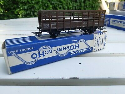 Wagon Hornby Acho , Wagon Tombereau à Claires Voies  7010 Meccano Triang  • 6€
