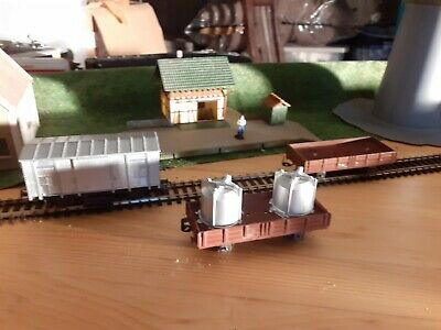 Lima   Inconnu - HOm Anciens Wagons Couvert Et Tombereau • 10€