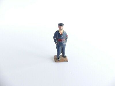 Hornby Meccano Dinky Toys Personnage En Plomb Cheminot Main Dans Les Poches  • 30€