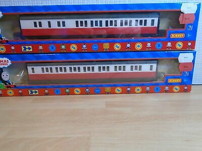 Hornby Thomas And Friends JAMES COACHES COMPOSITE AND BRAKE X 2 (F3.9) • 55.13€