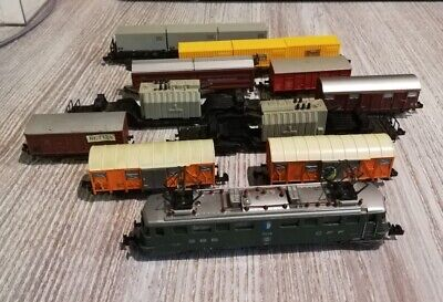 Locomotive Minitrix AE6/6 Avec 10 Wagons • 110€