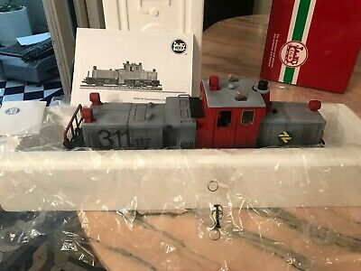 UNIQUE RARE LGB 21670 Track Cleaning Diesel Locomotive Customized RENFE OVP TOP • 725€
