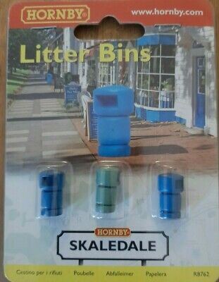 Hornby Skaledale R8762 Litter Bins New Sealed • 11.17€
