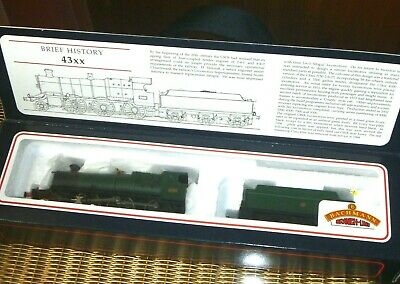 Bachmann 00 Gauge GWR 43xx Tender Locomotive 31-827 - Green Livery, New In Box • 56.15€