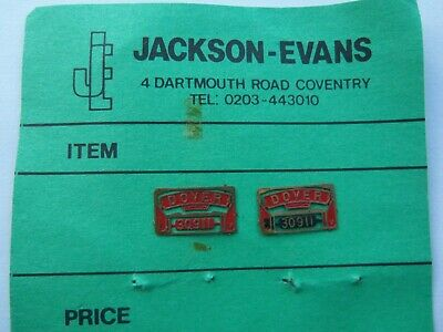 OO   4mm. JACKSON-EVANS.  30911  DOVER     NAME PLATE    Pre-owned • 2.23€