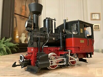 LGB 78302 Black Stainz Steam Locomotive 3 With Sound Lights And Smoke EXCELLENT • 155€