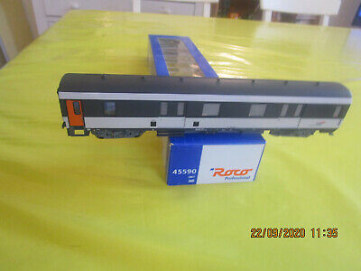 Roco Au 1/87° Fourgon A Bagages Corail Ep5/6 Sncf Ref 45590 • 65€