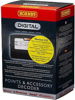 Hornby R8247 Points/Accessory Decoder DCC Accessory • 88.66€