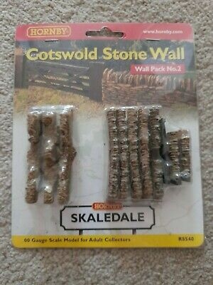 Hornby Skaledale R8540 Cotswold Stone Wall (wall Pack No. 2) • 1.14€