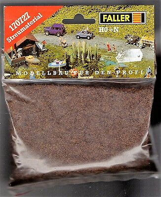 FALLER 170727 - GRASS FIBRE DARK BROWN 35g - NUOVO • 4.50€
