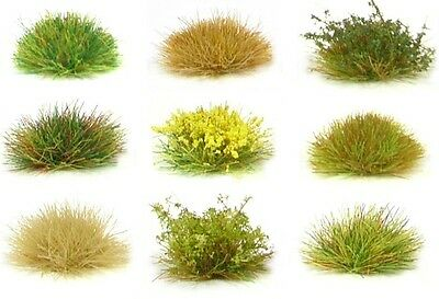 Grass Tufts Sheets, Self Adhesive X117 Tuft Sheet  - Model Scenery Flock Diorama • 4.47€