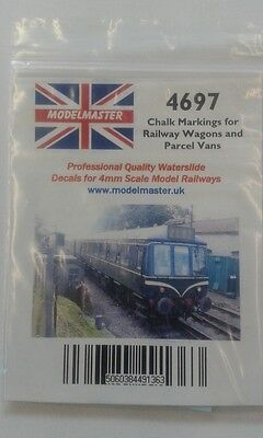 200 Chalked Instructions & Destinations Decals For Wagons Modelmaster MM4697 L1 • 9.32€