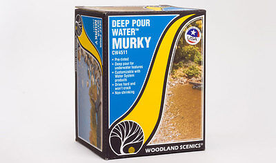 Deep Pour Water - Murky - Woodland Scenics CW4511 • 35.10€