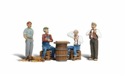 O Scale Checker Players - Woodland Scenics Figures A2727 - P3 • 21.62€