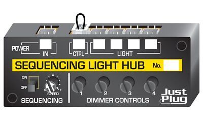 Sequencing Light Hub - Woodland Scenics Just Plug Lighting System JP5680 - P3 • 27.83€