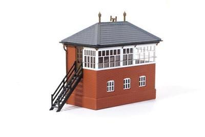 GWR Brick Signal Box Plastic Kit OO Scale - Ratio 552 - OO/HO Building Kit - P3 • 33.28€