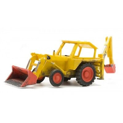 JCB Digger (construction) - Dapol Kitmaster C045 - OO Plastic Vehicles Kit • 11.69€
