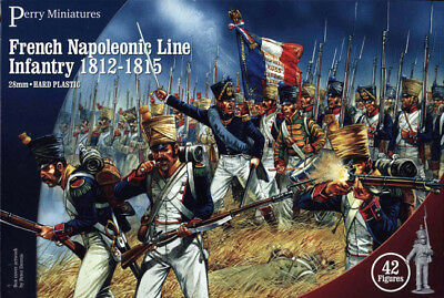 French Napoleonic Infantry - 28mm Figures X42 Perry FN100 • 25.69€