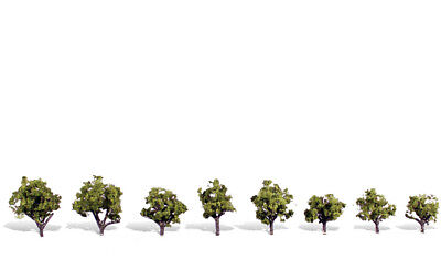 0.75in.-1 & XBC Early Light - Pack Of 8 - OO/HO Trees Woodland Scenics TR3545 • 19.69€