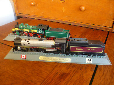Del Prado Lot De 2 Locomotives  Urss 1911 Et Canada 1937 • 12€