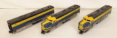 American Flyer Post-Guerre #484-485-486 Santa Fe   Aba   Diesel Locomotives-Vg + • 398.65€