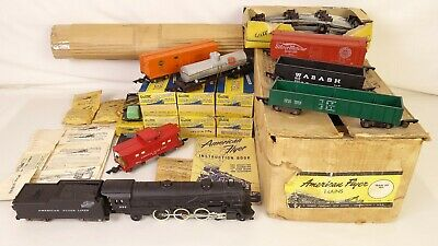American Flyer Alpiniste Set 5323T Avec / 282 Loco-Tender & Freights-Ex + / Obs • 324.47€
