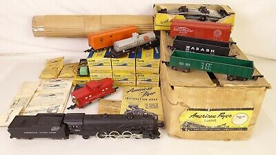 American Flyer Alpiniste Set 5323T Avec / 282 Loco-Tender & Freights-Ex + / Obs • 314.26€
