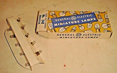 Vintage General Electric Miniature Lamps No.346 Pack Of 10 • 5.50€