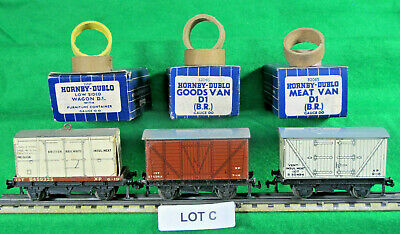Hornby Dublo Oo Gauge 3 Rail 3 Wagons As Photograph Fair/good  Lot C • 11.16€