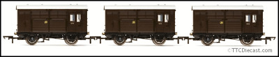 HORNBY R6883 Horse Boxes, Three Pack, GWR • 60.05€