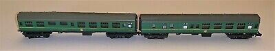 Lima N Gauge Mk1 Carriages In BR Green • 9€